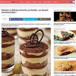 Réalisez ce délicieux tiramisu au Nutella : un dessert incontournable !