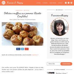 Délicieux muffins aux pommes (Recette Croq'kilos) - France And Happy