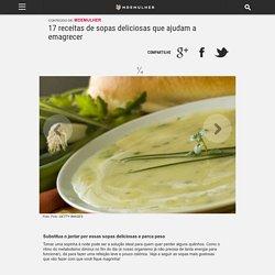 17 receitas de sopas deliciosas que ajudam a emagrecer - MdeMulher - Editora Abril