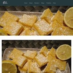 Delicious Coconut Lemon Squares - Body in Balance