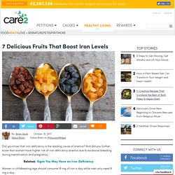 7 Delicious Fruits That Boost Iron Levels