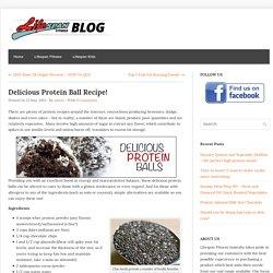 Delicious Protein Ball Recipe! - Lifespan Fitness Blog