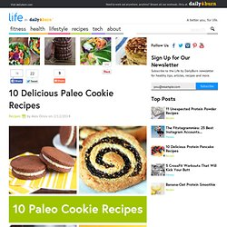 10 Delicious Paleo Cookie Recipes