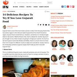14 Delicious Recipes to try if you Love Gujarati Food : IFN