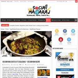 Veg Biryani Exists & It's Delicious - Veg Biryani Recipe