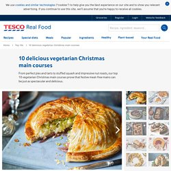 10 delicious vegetarian Christmas main courses