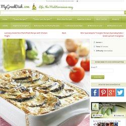 Delicious Vegetarian Moussaka Recipe with Mushroom Sauce