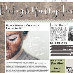 Honey Nutmeg Cinnamon Facial Mask