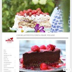 Delikat Chokladtryffeltårta (Raw, vegan)