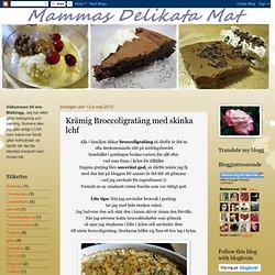 Krämig Broccoligratäng med skinka lchf