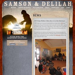 Samson & Delilah | A new film by Warwick Thornton | In Cinemas f