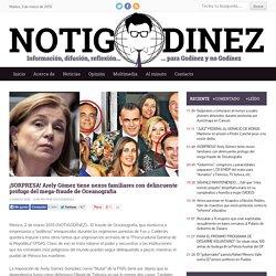 ¡SORPRESA! Arely Gómez tiene nexos familiares con delincuente prófugo del mega-fraude de Oceanografía