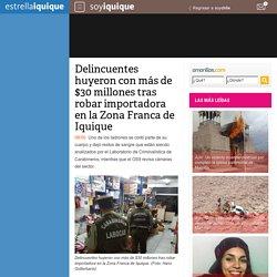 Delincuentes huyeron con más de $30 millones tras robar importadora en la Zona Franca de Iquique