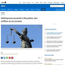 Délinquance juvénile à Bruxelles: des chiffres et un constat