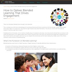 How to Deliver Blended Learning That Drives Engagement