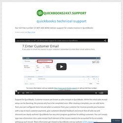 Our toll-free number {+1-877-220-8310} deliver support for create invoice in QuickBooks – quickbooks technical support