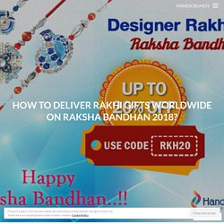 Looking For The How to Delivery Rakhi Gifts Worldwide