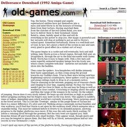 Deliverance Download (1992 Amiga Game)