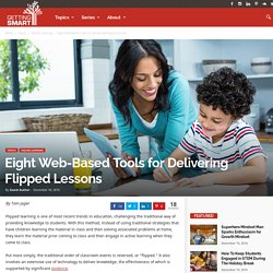 Eight Web-Based Tools for Delivering Flipped Learning