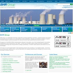 BHR Group The Fluid Engineering Centre