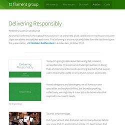 Filament Group, Inc., Boston, MA