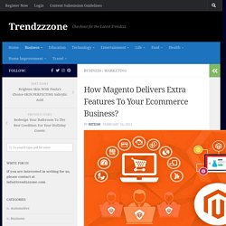 How Magento Delivers Extra Features To Your Ecommerce Business?