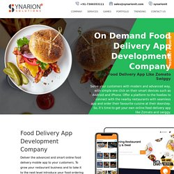 Kick-Start Your Own Food Delivery Business With Mobile App