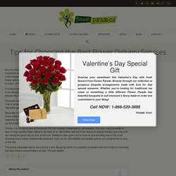 Best Flower Delivery Services in Mississauga and Toronto