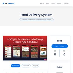 Get a Complete Food Delivery System like Swiggy, Zomato for Your Restaurant