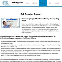 Dell Desktop Tech Support +1-844-824-9211