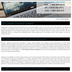 Dell Laptop Support Number +1-888-989-8478