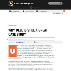 Why Dell Is Still A Great Case Study