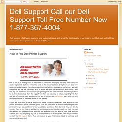 How to Find Dell Printer Support