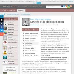 Délocalisation et stratégies industrielles