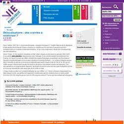 Delocalisations : INSEE, etude, statistiques, entreprises, licen