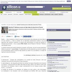 Deloitte France : un labo data et sécurité IT en France