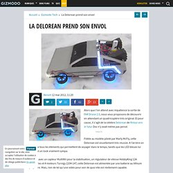 La Delorean prend son envol