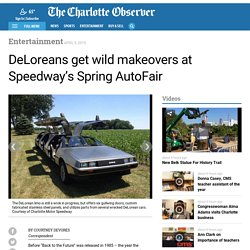DeLoreans get wild makeovers at Speedway's Spring AutoFair