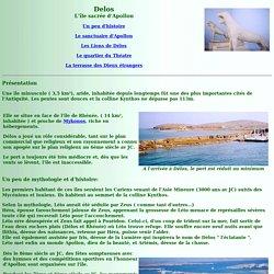 Délos, l'île sacrée d'Apollon