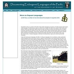 DELP - Papuan Languages