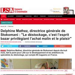 Delphine Mathez, directrice générale de...