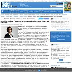 """Delphine Mallet: """"Nous ne laissons pas le client seul face à sa tablette"""" - 07/10/16"""