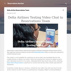 Delta Airline Reservations Team