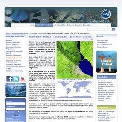 Delta del Río Paraná – Landsat 5 TM – 30 de Marzo de 2011