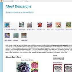 Ideal Delusions: Kitchen Kolors Trivet