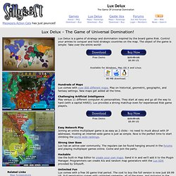 Lux Delux - The best Risk game there is, free download for Mac and PC