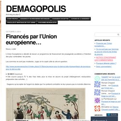 DEMAGOPOLIS | Anti-blog du plan C
