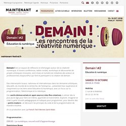 Demain ! #2 ~ Festival Maintenant