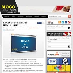 Le web de demain avec HTML5 et CSS3