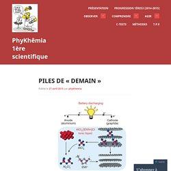 «PhyKhêmia 1ère scientifique